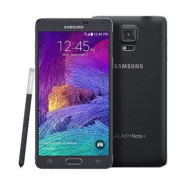 Samsung Galaxy Note 4 Smartphone - Hitam