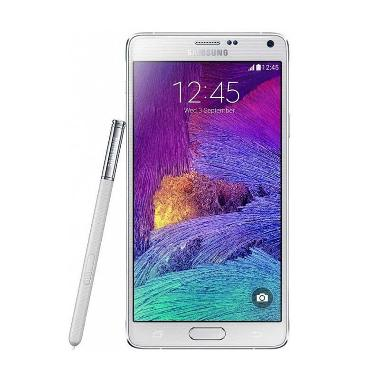 Samsung Galaxy Note 4 (Frosted White, 32 GB)