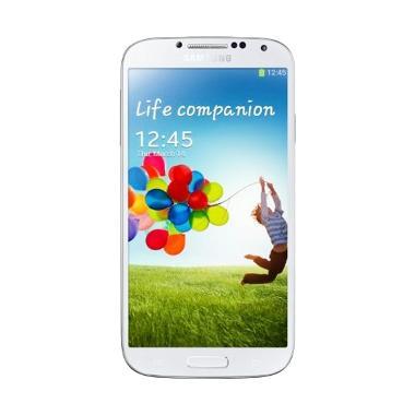 harga Samsung I9500 Galaxy S4 (White Frost, 16 GB) Blibli.com