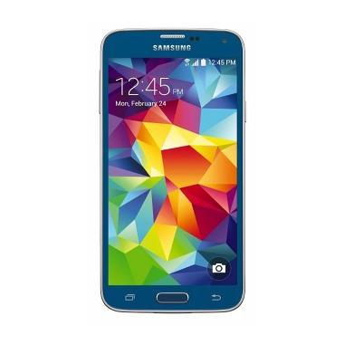 Samsung Galaxy S5 Smartphone - Blue [Garansi Resmi 1 tahun]