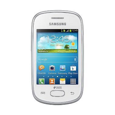 Samsung Galaxy Star S5282 Smartphone - Putih [4 GB]