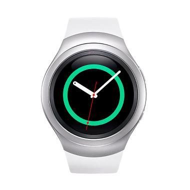 Samsung Gear S2 Sport SM R7200Z Smartwatch - White Silver