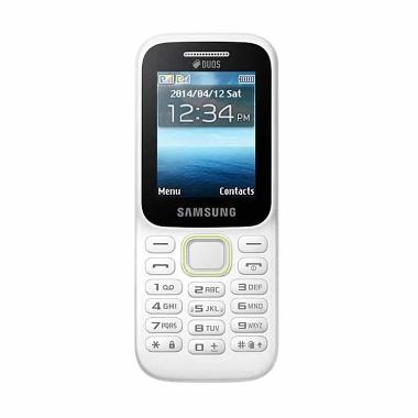 Samsung Guru Music 2 Piton SM-B310E Handphone - White [Dual SIM]