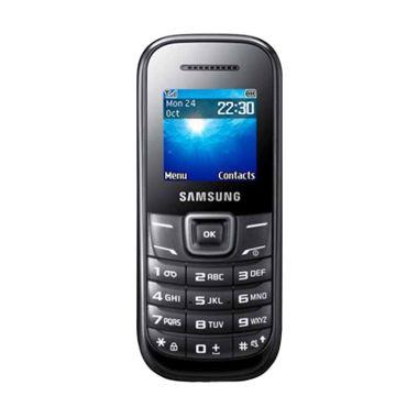 Samsung Keystone 2 E1205 Handphone - Hitam