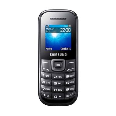 Samsung Keystone 2 GT-E1205Y Handphone - Hitam