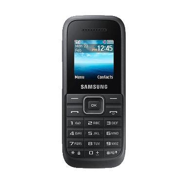 Samsung Keystone 3 B109 Handphone - Hitam