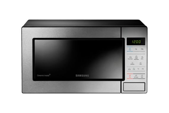 Free Gift - Samsung ME83M/XSE Ceramic Enamel Solo Microwave [23 L]
