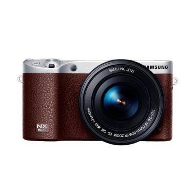 Samsung NX500 Cokelat Kamera Mirrorless