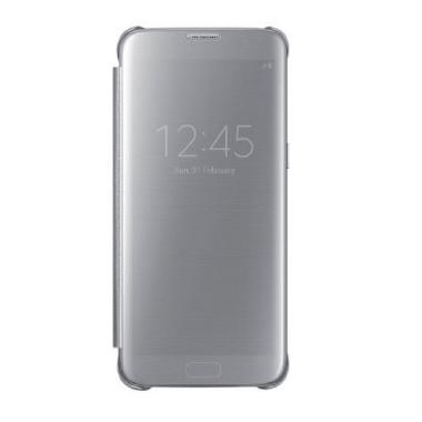Samsung Original Clear View Cover C ... amsung Galaxy S7 - Silver