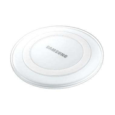 Samsung White Wireless Charger Pad for Galaxy S6