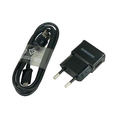 Samsung Original Travel Charger for ... xy J1/J2/J3/J5/J7 - Hitam