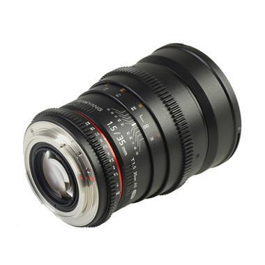 Samyang Lens 35mm T1.5 VDSLR MK II for Canon