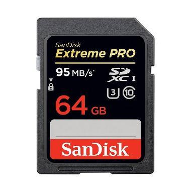 harga Sandisk Extreme Pro SDXC UHS-I 95MB/s 64GB Blibli.com