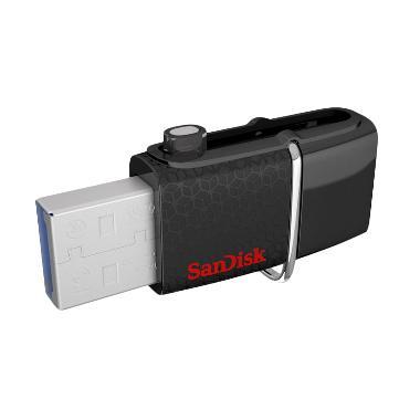 Sandisk Ultra Dual USB Drive OTG - Hitam [128 GB]