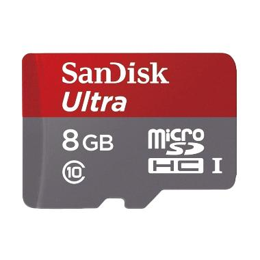 Sandisk Ultra Micro SD Class 10 Memory Card [8 GB/48Mbps]