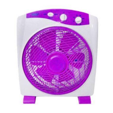 Sanex 818 Purple Box Fan [12 Inch]