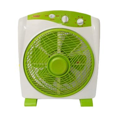 Sanex Box Fan Green Kipas Angin [12 Inch]