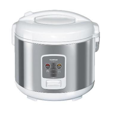 Sanken SJ-2200 Rice Cooker - Putih Silver [1.8 L]
