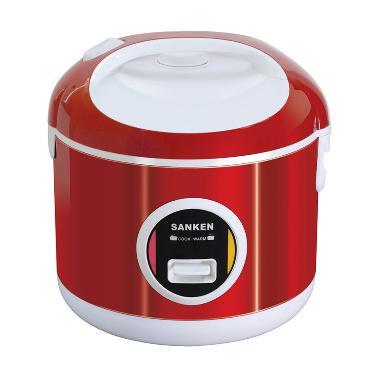 Sanken SJ-200 Rice Cooker - Merah [1 L]
