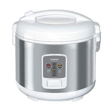 Sanken SJ-2200 Rice Cooker Tradisional 1,8L 6 In 1 - Silver