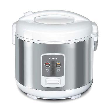 Sanken SJ-2200 Silver Rice Cooker [1.8 L]