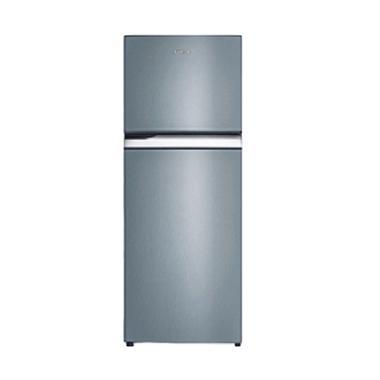Sanken SK-350 Lemari Es - Silver Grey  [324L/Ion Anti Bacteri/2 Door]