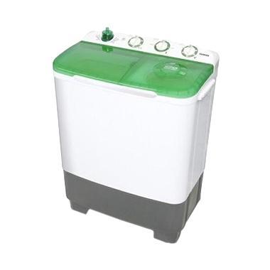 Sanken TW-8700 GR Hijau Mesin Cuci [2 Tabung/7 Kg]