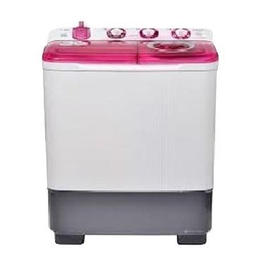 Sanken TW-8700-PK Mesin Cuci [2 Tabung/7 kg]