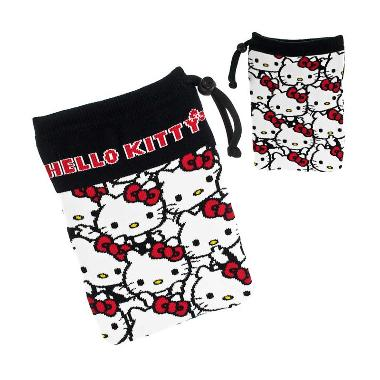 Sanrio Characters Hello Kitty Multi ... Smartphone Pouch [L Size]