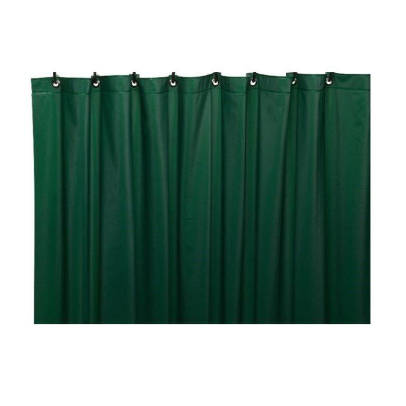 Sanro Dark Green Shower Curtain [1.8 x 1.8 m]