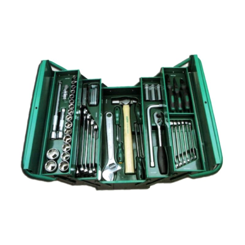 SATA Tools Cantilever Tool Chest & Tray 95104A-70 Set Socket [70 Pcs/12 pts]