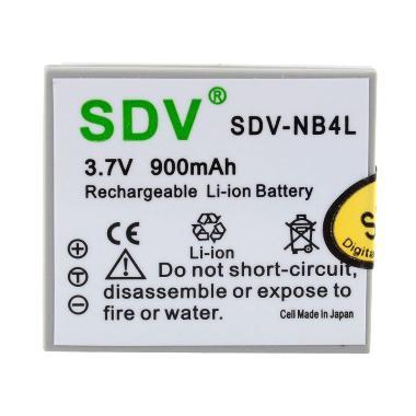 SDV NB-4L Baterai Kamera for Canon