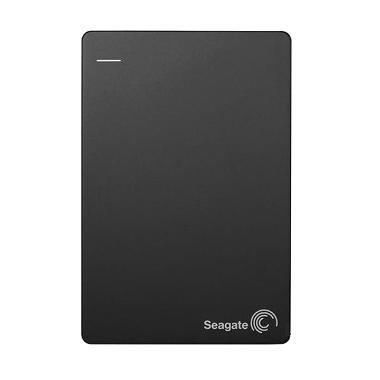 Seagate Backup Plus Slim Harddisk Eksternal [1 TB] - Hitam