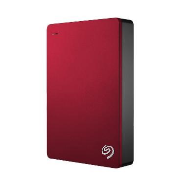 Seagate Backup Plus Portable Hardisk Eksternal [4TB] - Red