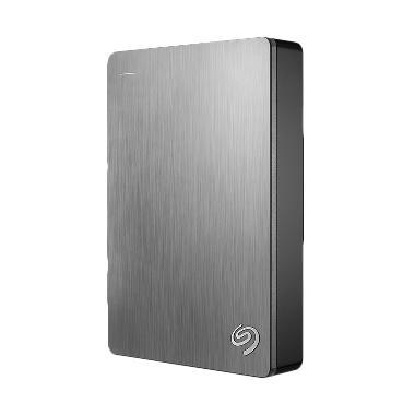 Seagate Backup Plus Portable Harddisk Eksternal [4TB] - Silver