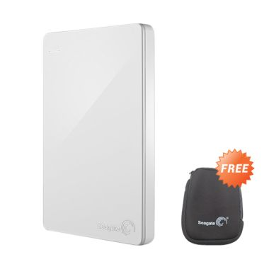 Seagate Backup Plus Slim Harddisk External  [1 TB] - Putih