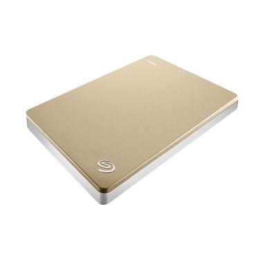 Seagate Backup Plus Slim Portable Hardisk External - Gold [1TB]