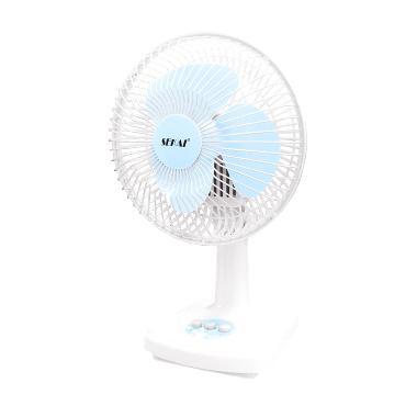 Sekai DFN 709 Desk Fan Kipas Angin [6 Inch/2 In 1]