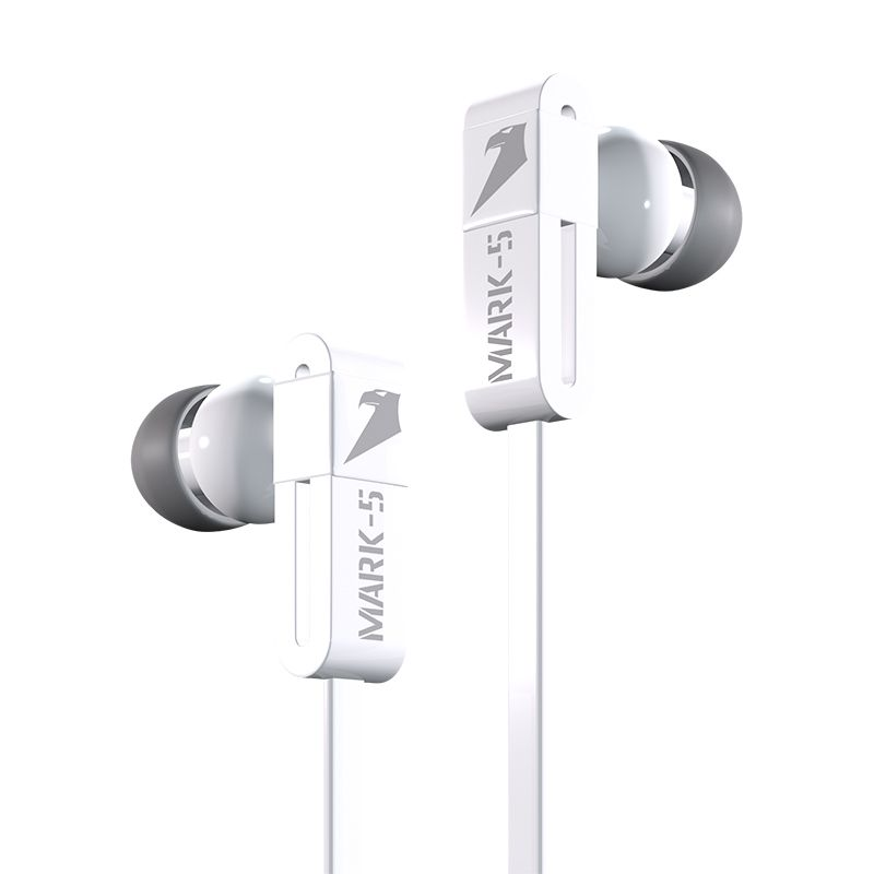 Armaggeddon Earphone Mark 5 [mic] White