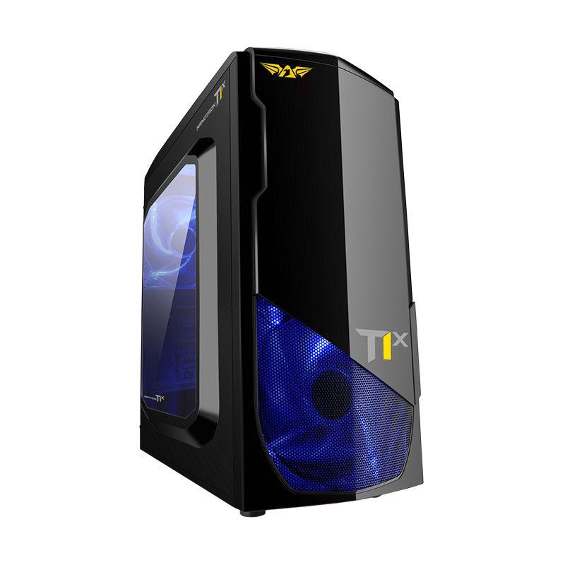 Armaggeddon NanoTron T1X Hitam Casing Komputer