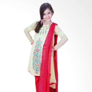 Senshukei Gamis Baju Muslim - Yellow