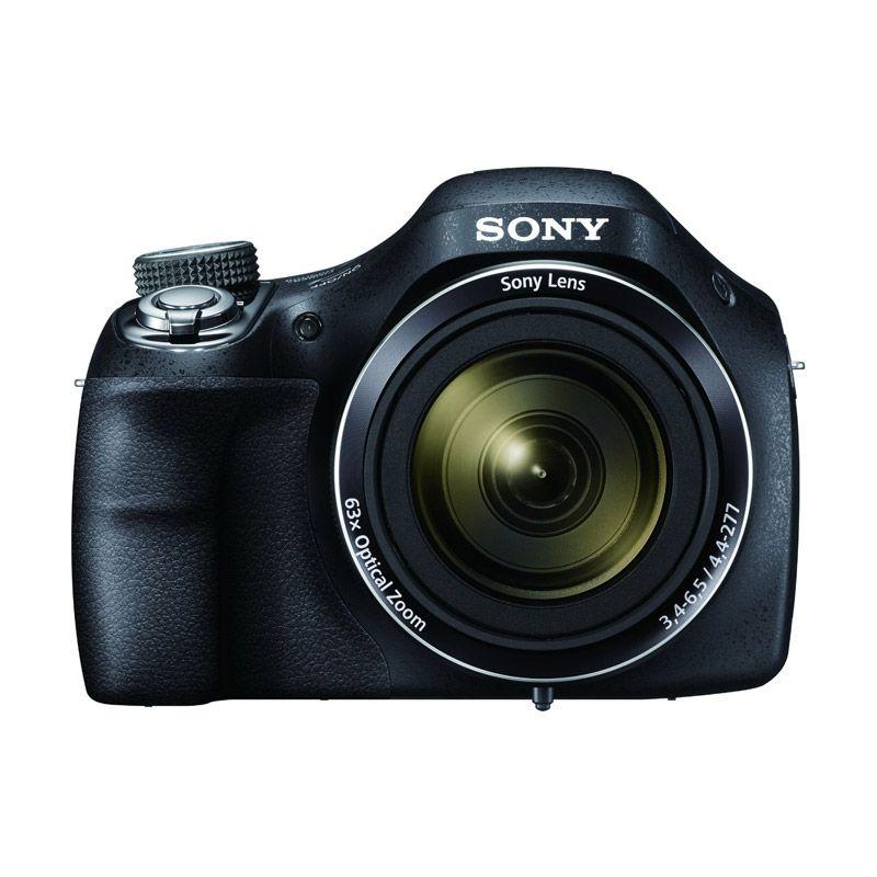 Sony Cybershot DSC-H400 Hitam Kamer ...