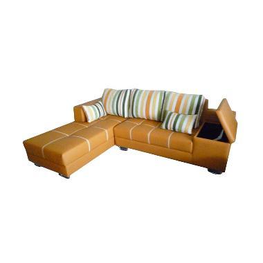 Sentra Furniture Box Sofa L