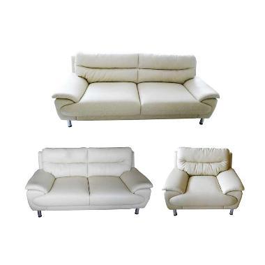 Sentra Furniture Condo 321 Sofa - Broken White