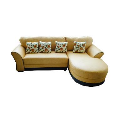 Sentra Furniture Lily Sofa L - Kuning