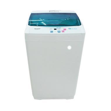 Sharp ES-G865P-G Mesin Cuci [Top Loading/6 Kg]