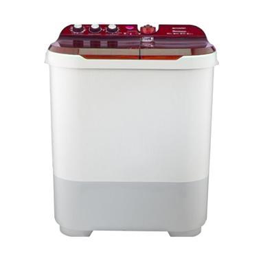 Sharp ES-T1090-PK Pink Mesin Cuci [2 Tabung/10 kg]