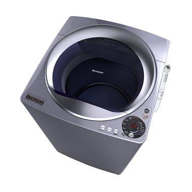 Sharp ESM1108TSA Mesin Cuci [Top Lo ... ombang, Kediri dan Madiun