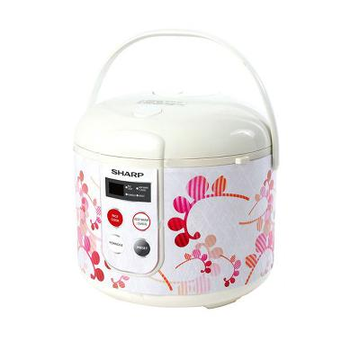 SHARP KS-T18TL-RD Rice Cooker - Red [1.8 L]