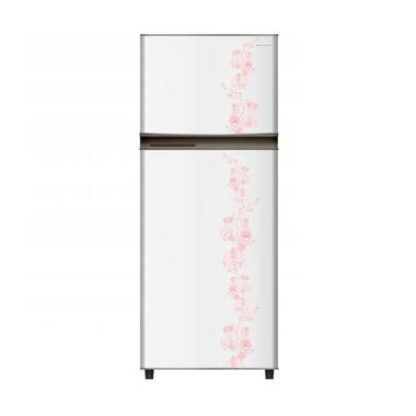 Gallery - Sharp SJ-195MD-FW Kirei Flower White Kulkas [2 Pintu/184 L]